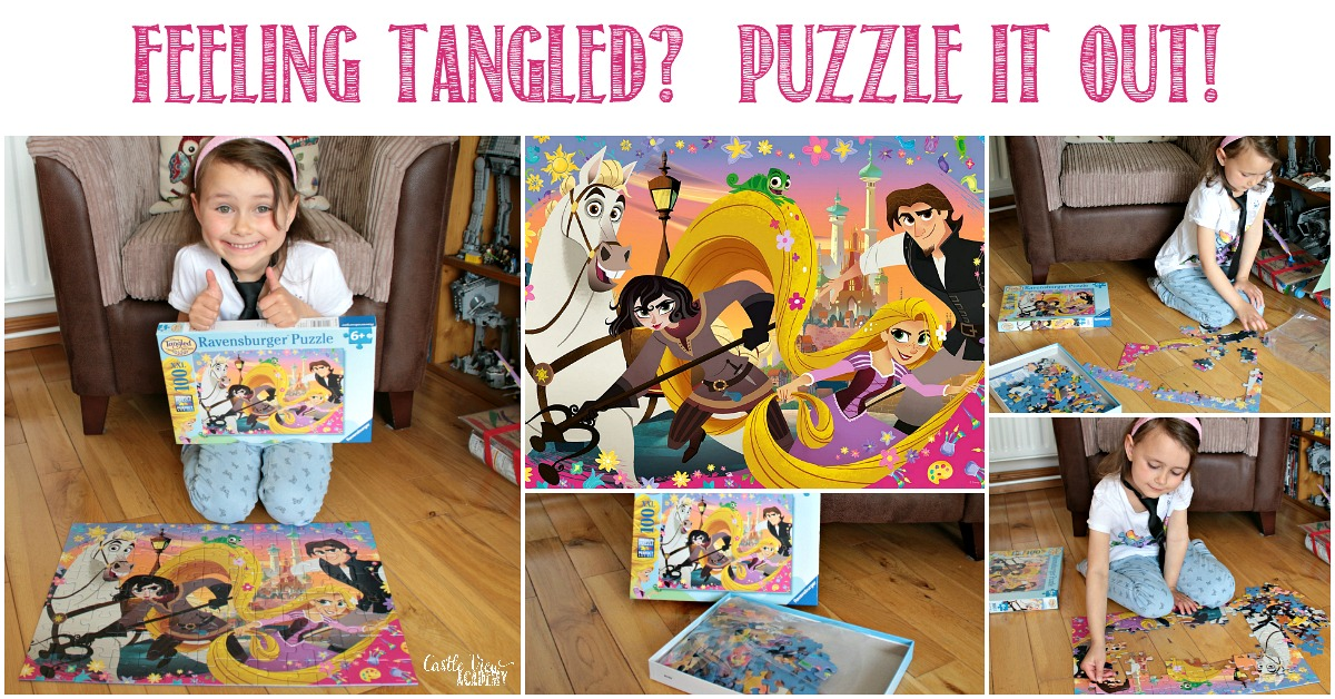 Feeling Tangled Puzzle It Out! A review from Castle View Academy homeschool