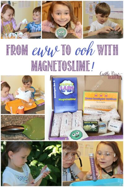 From eww to ooh with Magnetoslime from Letterbox Lab, a review by Castle View Academy
