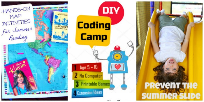 Fun Summer learning activities at Castle View Academy homeschool
