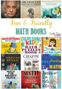 Fun and friendly math books at Castle View Academy homeschool