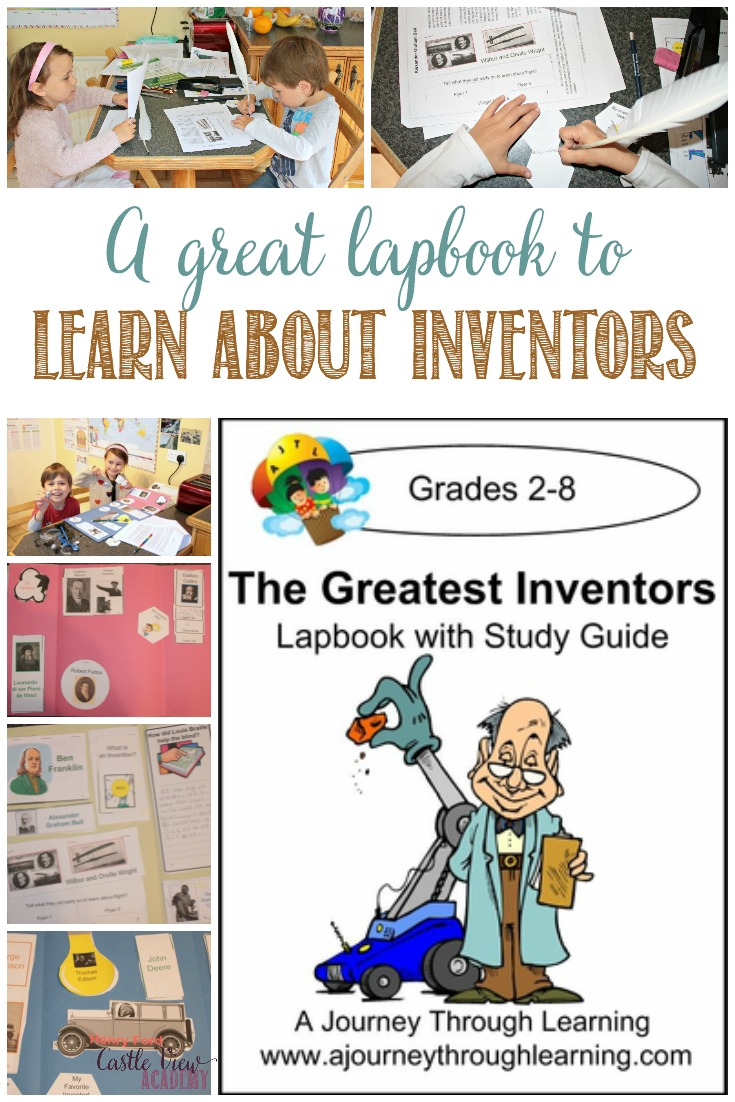 Inventors are exciting; some are brainiacs while others are just 'ordinary' folk, My children were happy to reviewThe Greatest Inventors Lapbook
