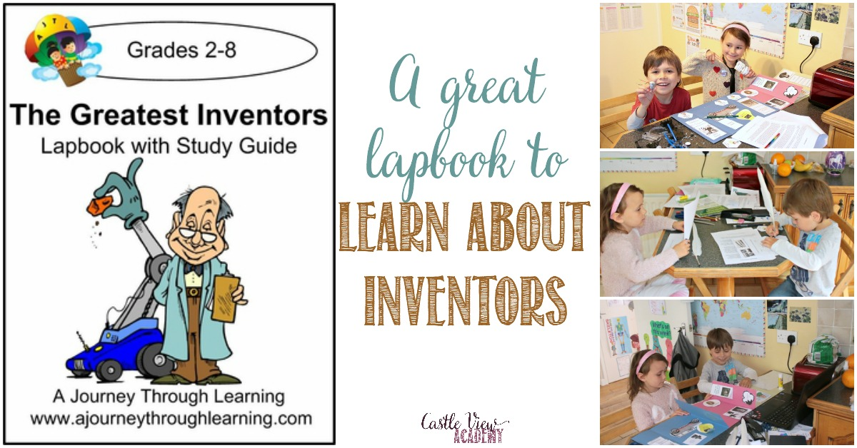 Greatest Inventors lapbook , a review by Castle View Academy