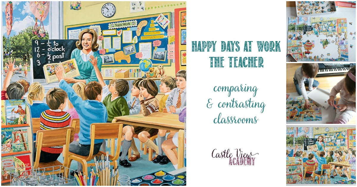 Happy Days at Work - The Teacher, a Castle View Academy homeschool review
