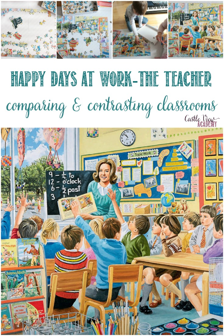 Happy Days at Work - The Teacher, a Castle View Academy review