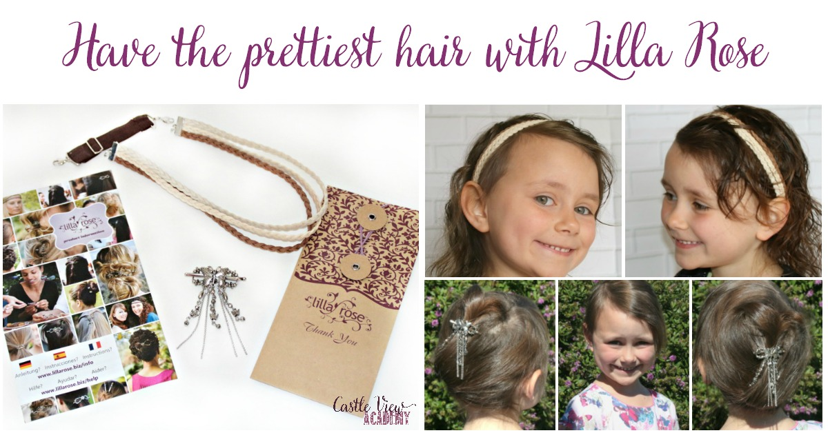 Have the prettiest hair with Lilla Rose, review by Castle View Academy