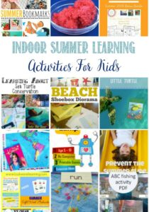 Indoor Summer Learning Activities For Kids at Castle View Academy homeschool