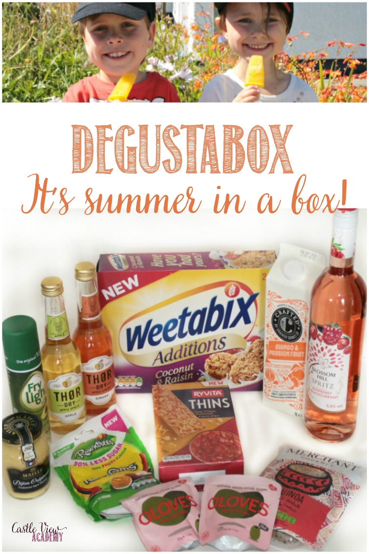 It's summer at Degustabox and Castle View Academy
