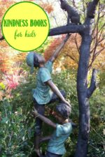 Kindness books for kids at Castle View Academy homeschool