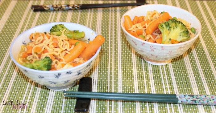 Last minute simple stirfry by Castle View Academy homeschool