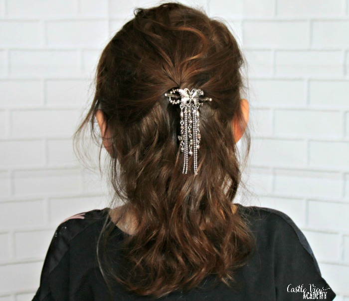 Lilla Rose clips are so pretty, a review by Castle View Academy homeschool