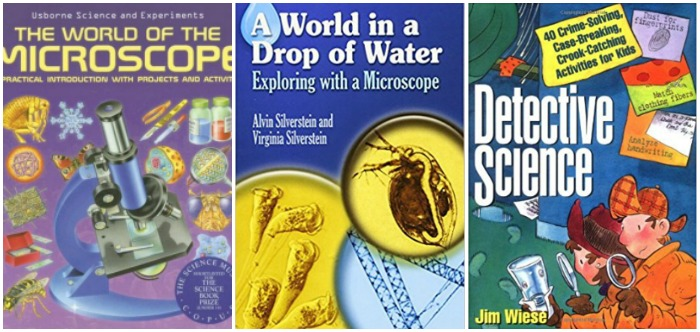 Microscope books for kids