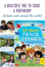 Origai Peace Cranes, Friendships Take Flight, A beautiful way to start a friendship at home and around the world, Castle View Academy homeschool