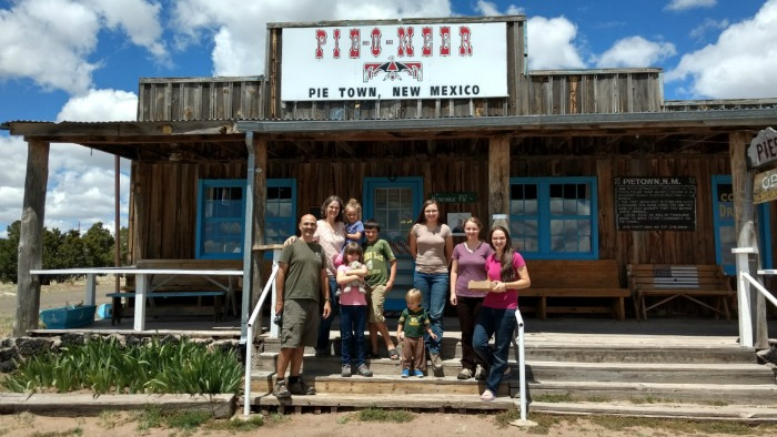 Pie-O-Neer in Pie Town, New Mexico