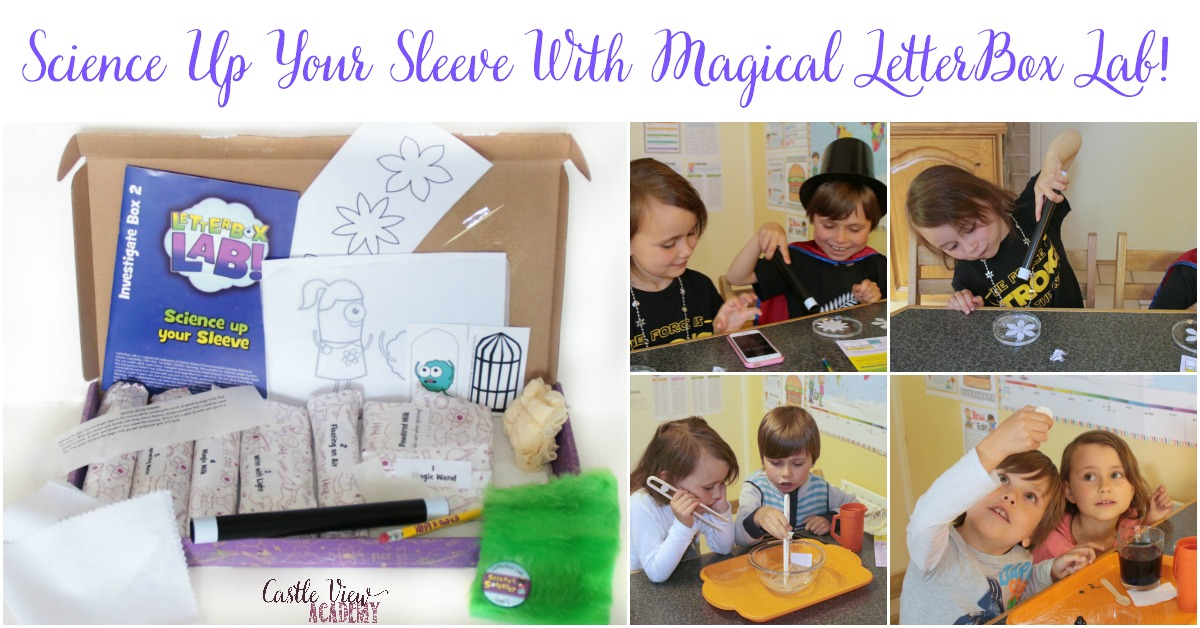 Science up your sleeve wit magical LetterBox Lab, review by Castle View Academy