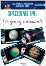 SpaceMail Pal, subscription postcards For Little Astronauts