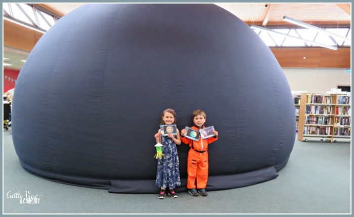 SpaceMail Pal is perfect for summer and all year round! Castle View Academy's little explorers agree