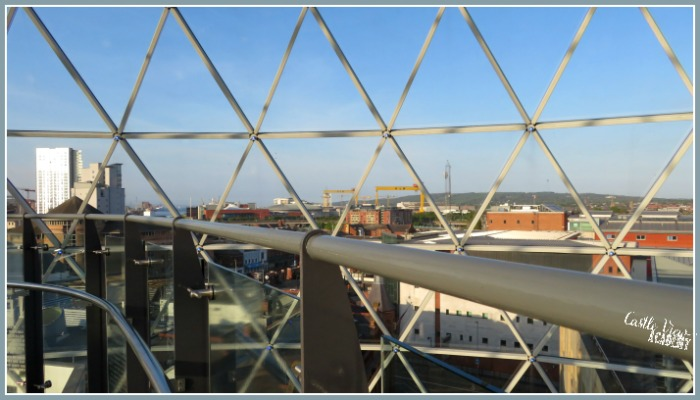 View from Victoria Dome in Belfast, What to do in Belfast by Castle View Academy
