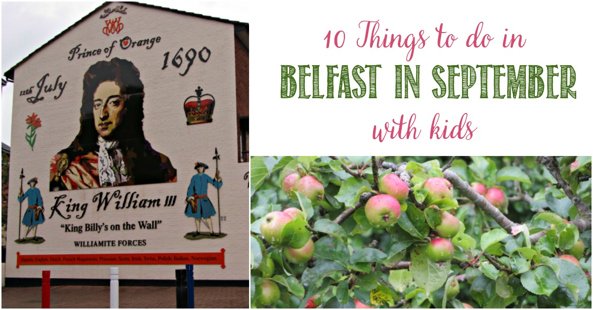 10 Things To Do In Belfast In September With Kids and Castle View Academy