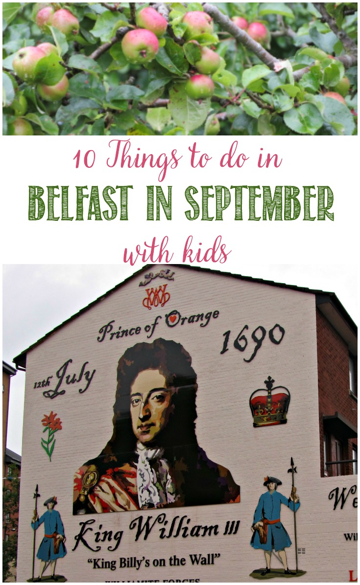 10 Things To Do In Belfast In September With Kids and Castle View Academy homeschool