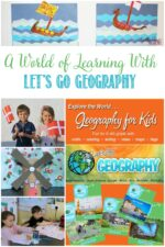 A World of Learning With Let's Go Geography, a review by Castle View Academy homeschool