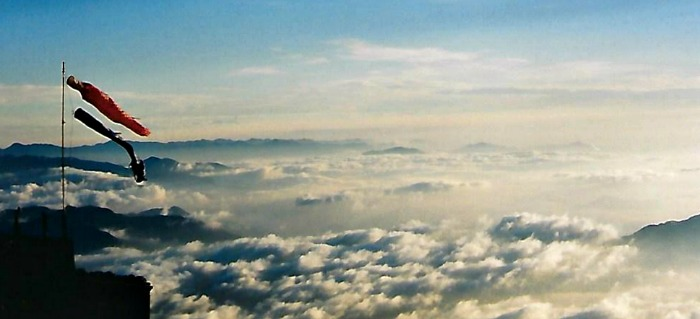 Above the clouds on Mount Fuji, Japan with Castle View Academy