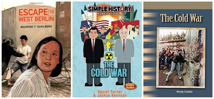 Books about the Cold War for kids at Castle View Academy homeschool