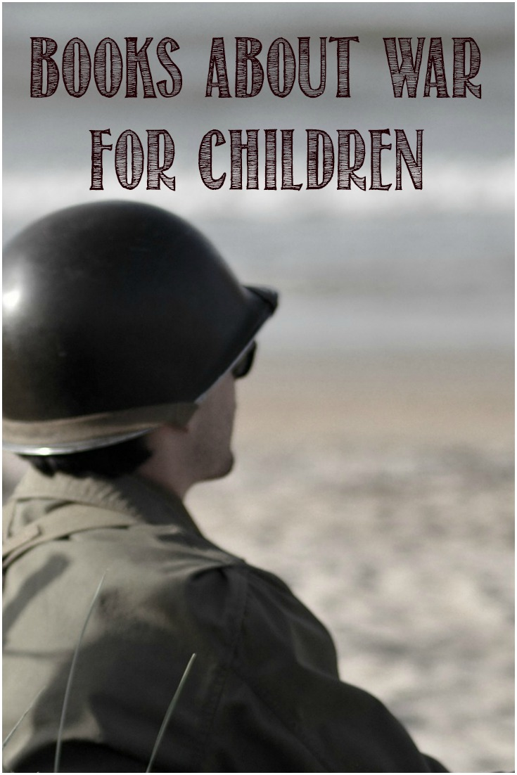 Books about war for children at Castle View Academy