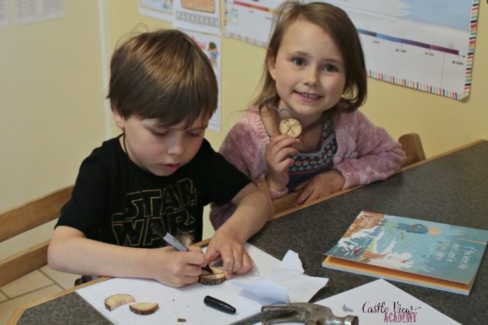 Castle View Academy reads and crafts with If You Were Me and Lived in… Viking Europe by Carole P. Roman