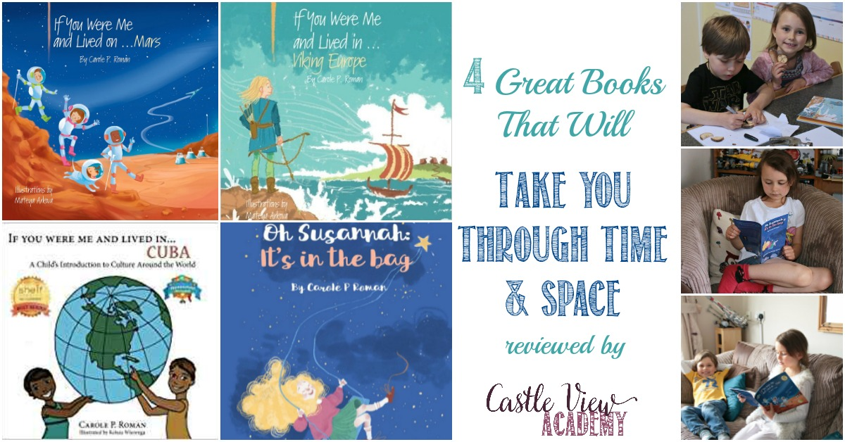 Castle View Academy reviews 4 Great Books That Will Take You Through Time & Space