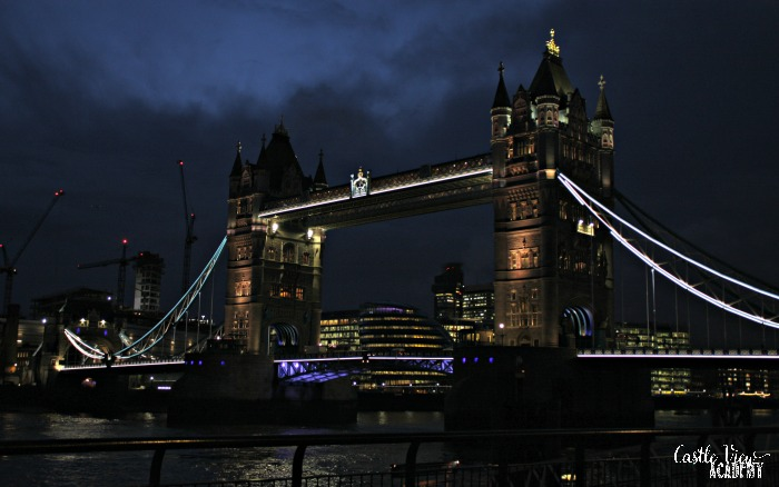 Castle View Academy visits Tower Bridge in London