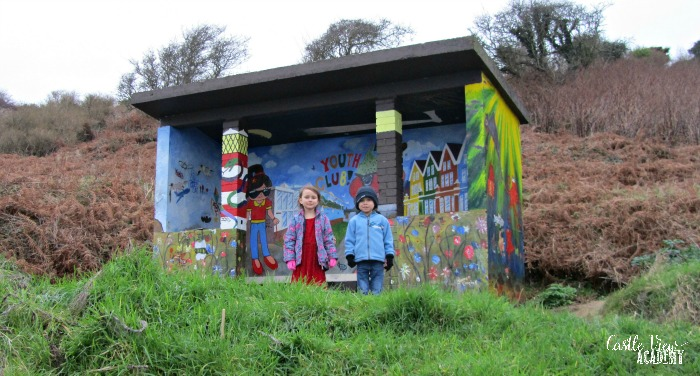 Community art beauty by the Lough and Castle View Academy homeschool