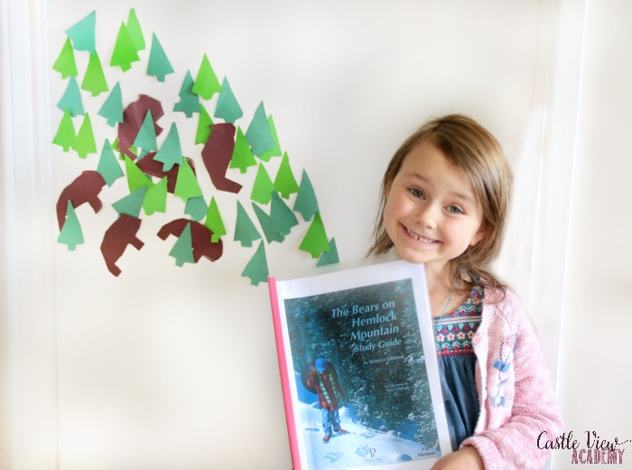 Craft from The Bears on Hemlock Mountain e-guide at Castle View Academy homeschool