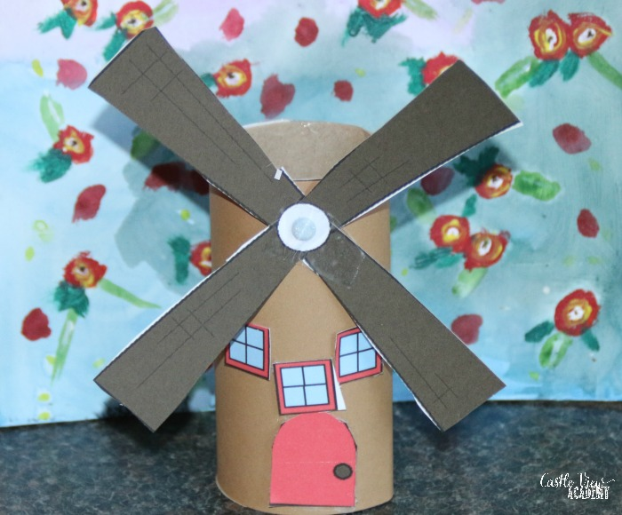 Danish windmill craft at Castle View Academy