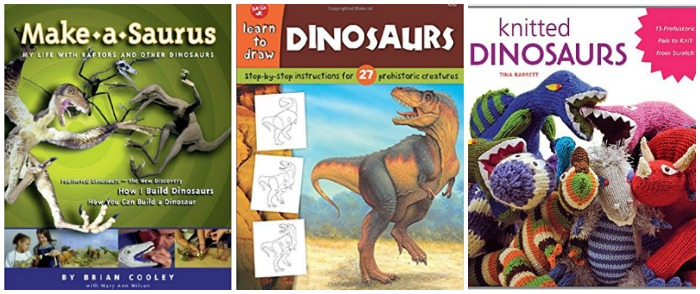 Dinosaur craft books at Castle View Academy