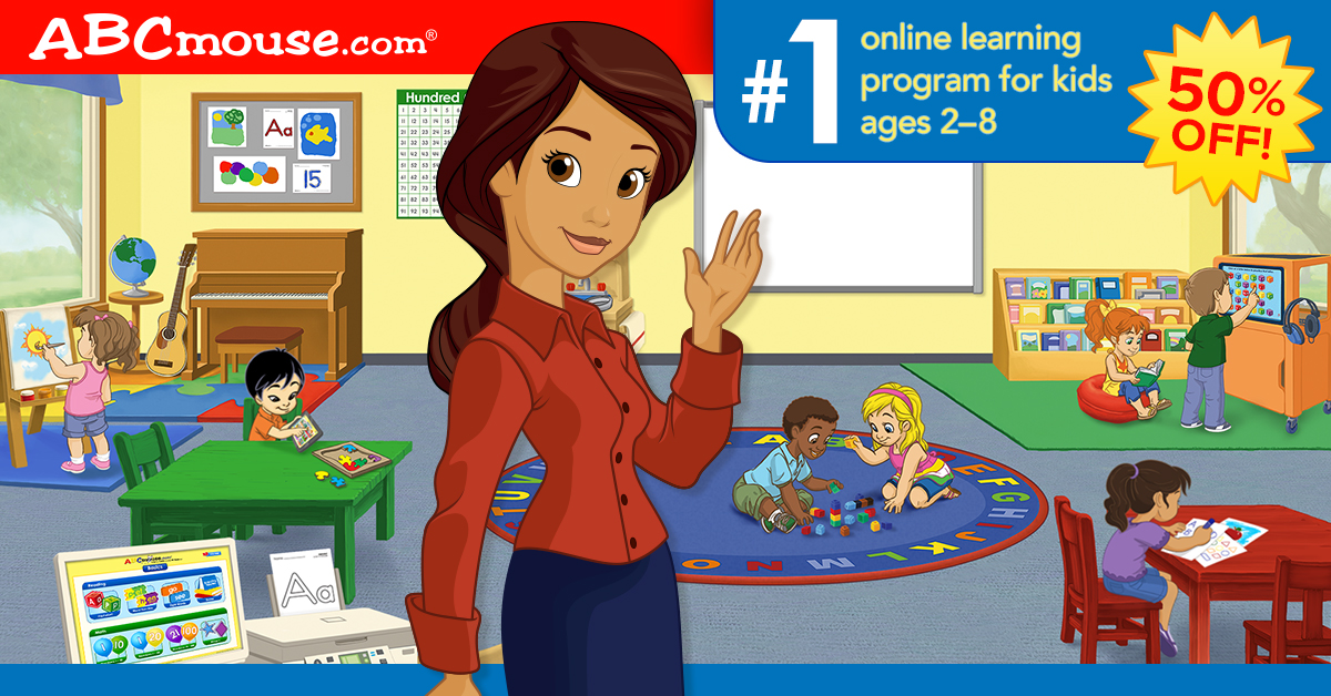 50% Off 1 year of ABCmouse