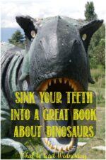 Great dinosaur books at Castle View Academy