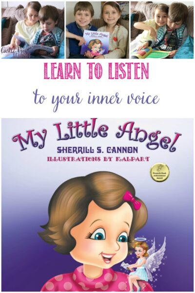 Learn To Listen To Your Inner Voice With My Little Angel, a review from Castle View Academy homeschool