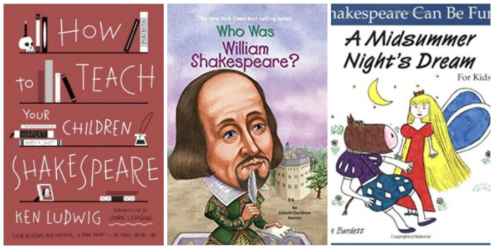 Learning about Shakespeare for kids at Castle View Academy homeschool