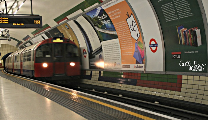 London Tube with Castle View Academy