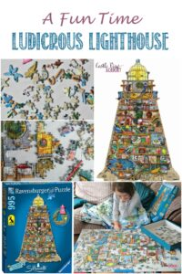 Settle In For A Fun Time With This Ludicrous Lighthouse with Castle View Academy homeschool