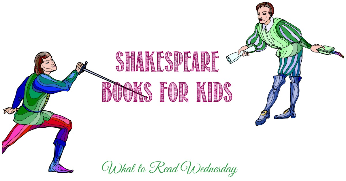 Shakespeare books for kids on WTRW at Castle View Academy