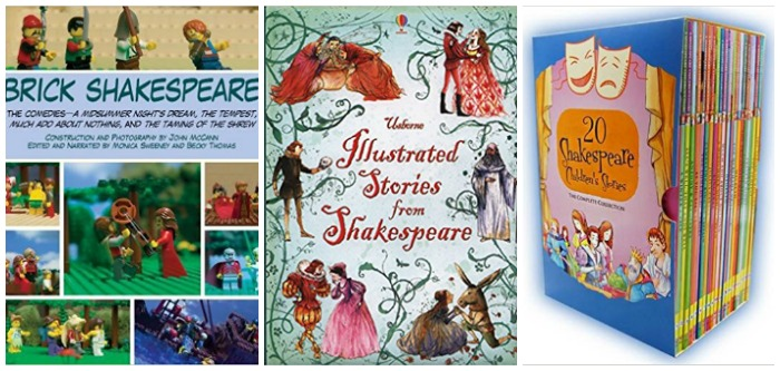Shakespeare for kids at Castle View Academy homeschool