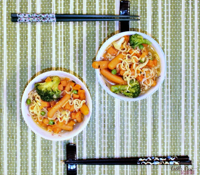 What's for dinner, a super simple stirfry for Castle View Academy