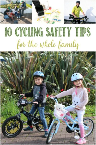 10 Cycling Safety tips for the whole family at Castle View Academy homeschool
