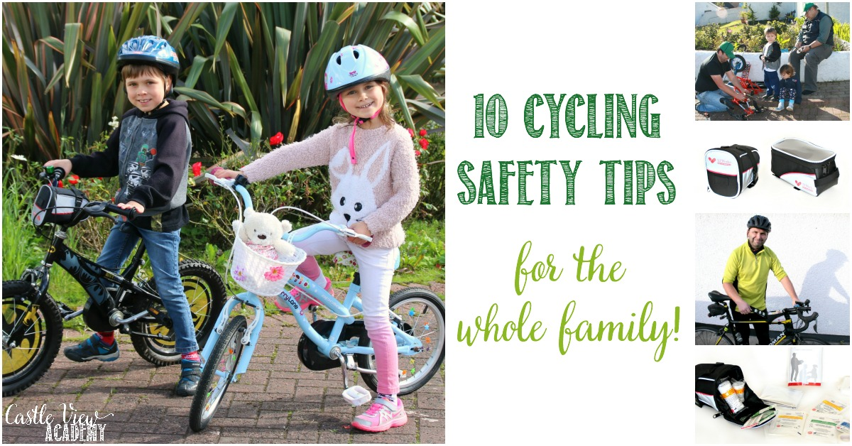 10 Cycling Safety tips for the whole family at Castle View Academy