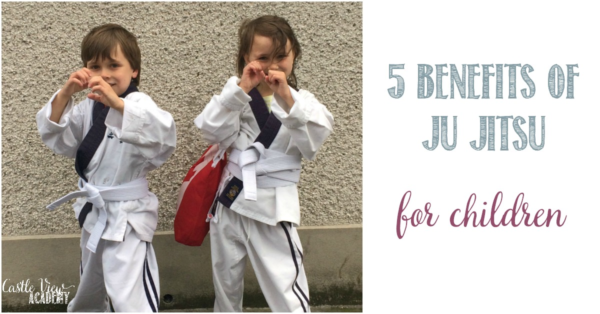 5 benefits of Ju Jitsu for children at Castle View Academy