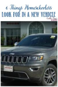 6 things homeschoolers look for in a new vehicle, Castle View Academy