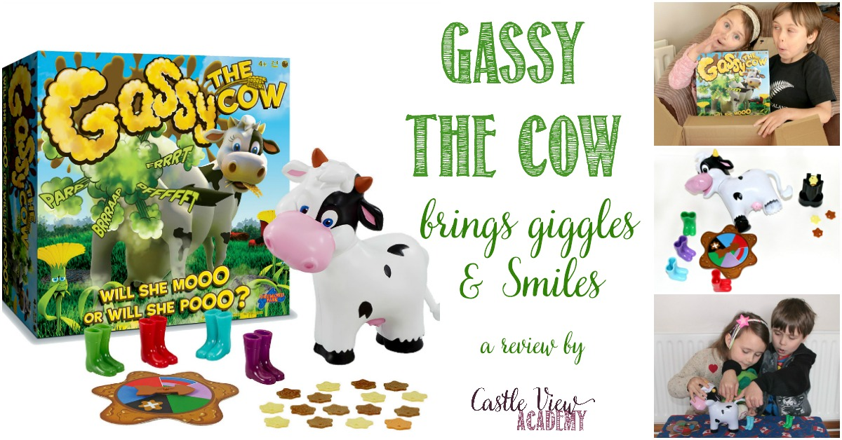 A review of Gassy The Cow by Castle View Academy homeschool