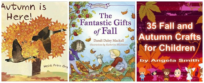 Autumn books for kids at Castle View Academy homeschool