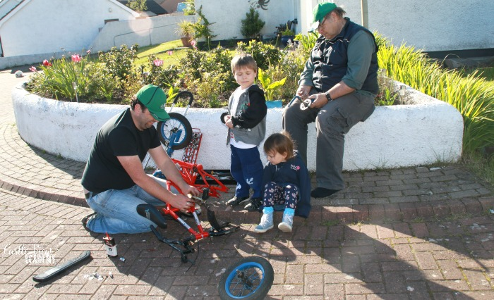 Bike maintenance is an important skill and a must for safety at Castle View Academy homeschool